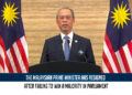 The Malaysian prime minister has resigned after failing to win a majority in parliament