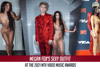 Megan Fox's Sexy outfit at the 2021 MTV Video Music Awards